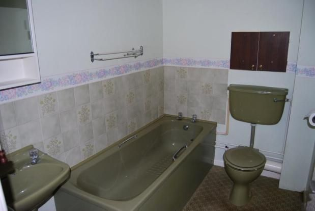 Avocado bathroom suite recently vacated and elderly for Avocado bathroom suite ideas