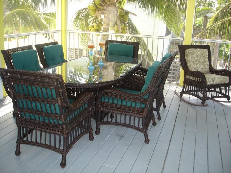 Patio Dining Florida Keys Vacation Home Decorating Ideas Pinterest