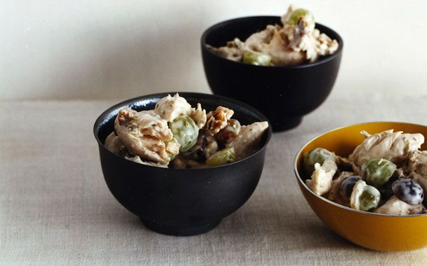 Chicken Salad with Grapes and Walnuts | Kitchen fixins | Pinterest