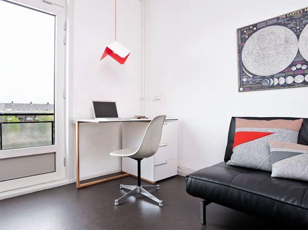 Office table design by reinier de jong homemydesign pinterest