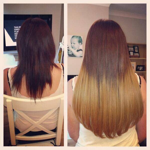 Dying Bonded Hair Extensions 85