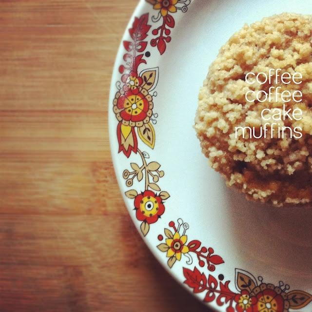 Coffee coffee cake muffins - recipe | Edibles | Pinterest
