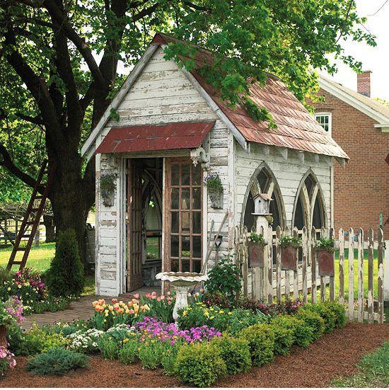 Potting Shed Greenhouse Garden Sheds Pinterest