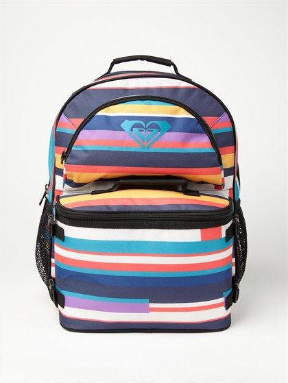 Love the bright colors of this girls backpack from Roxy, sized for girls 7-14.  They have some other great patterns, but only in adult-sized versions.