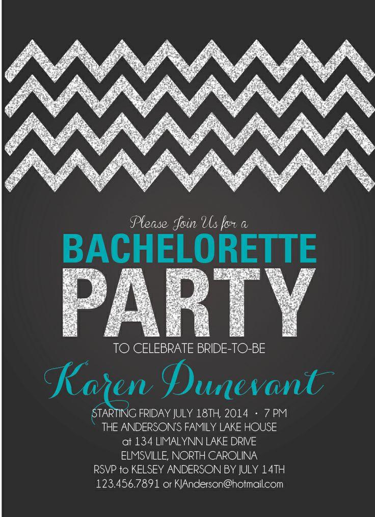 Bachelorette Invitation is best invitations layout