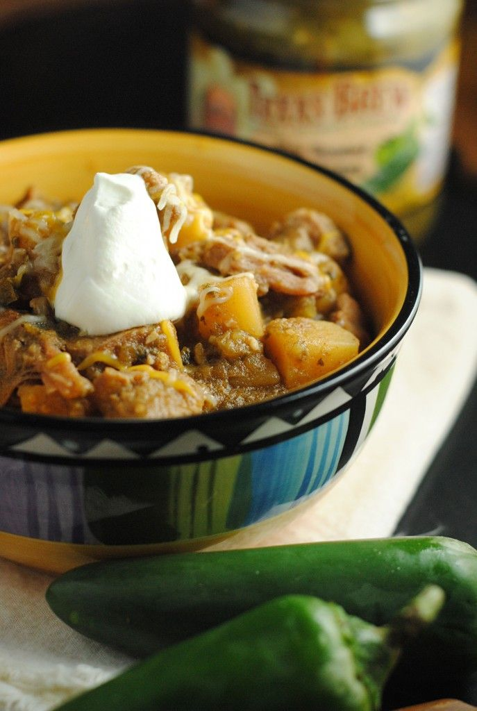 Green Chili Pork Stew ~ A @TexasBrew Feature & #Giveaway! | Juanita's...