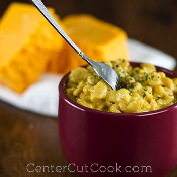 Easy, Creamy, Macaroni and Cheese - only requires one pot to make ...