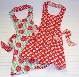 the church lady.  my favorite apron pattern @marymulari.com