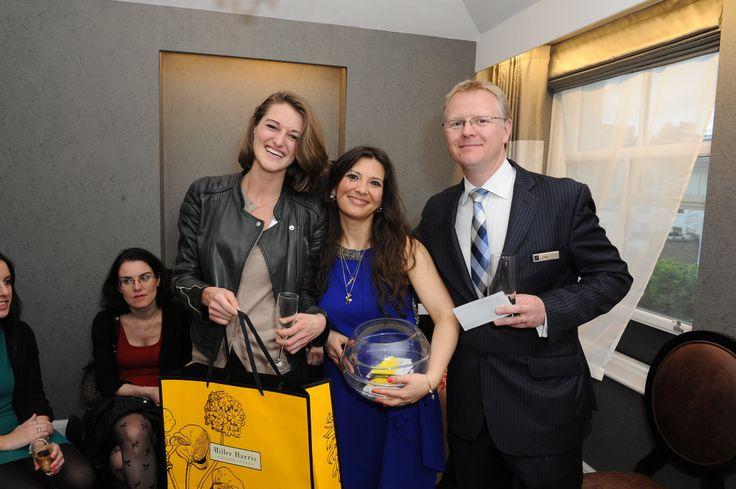 Flemings Mayfair suites & apartments launch party! #PrizeDraw #Winner #MillerHarrisHamper