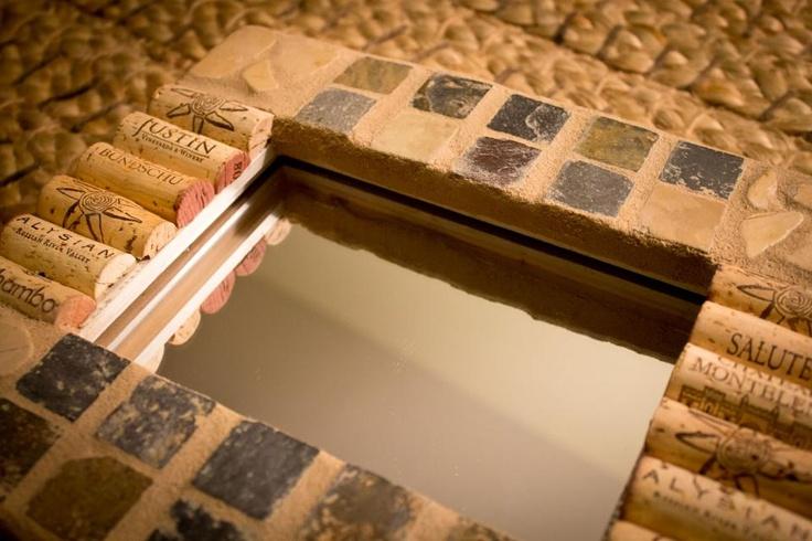 The Wine Looooovers Mosaic Tile Mirror