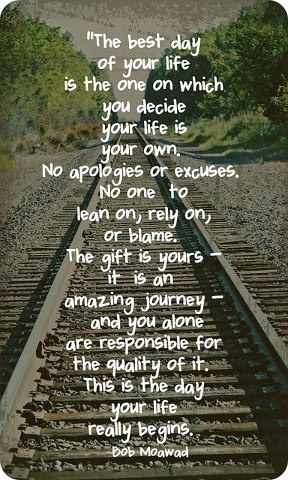 No excuses ... life quotes, the journey, remember this, bob, life lessons, inspir, thought, true stories, new years