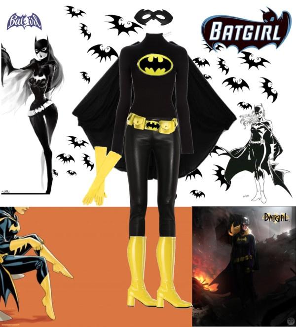 """Batgirl...nananananananananana...Batgirl"" by ana-cris on Polyvore"