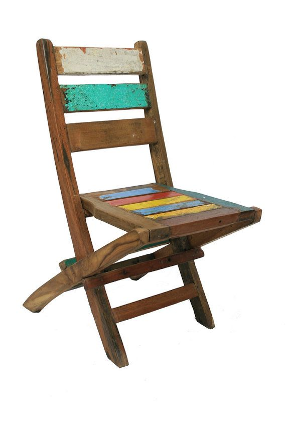 painted folding chair DIY