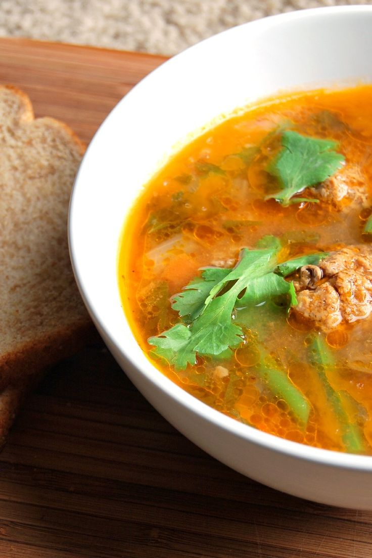 Albondigas Soup Recipe — Dishmaps