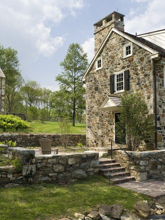 stone farmhouse House ideas