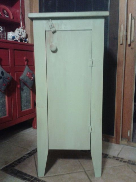 sale It is painted in a gorgeous light olive green with a distressed