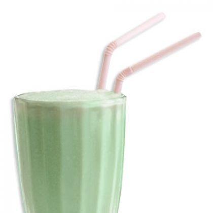 Homemade shamrock shake #recipe | Smoothies & Shakes | Pinterest
