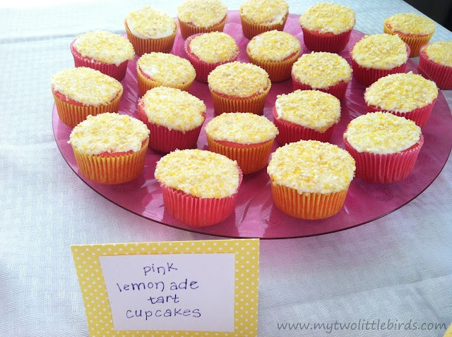 Pink Lemonade Tart Cupcakes | Recipes I Need to Make | Pinterest