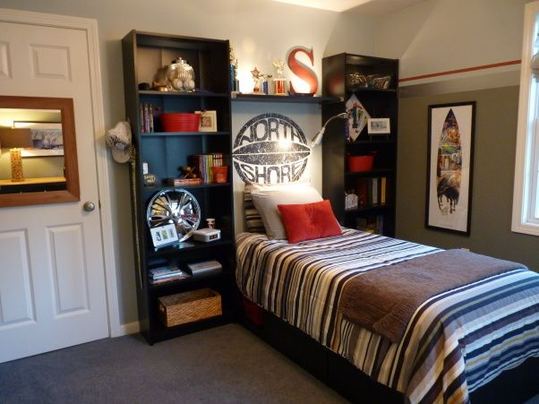 Pin by michelle pittman on boys room pinterest for Cool boy bedroom designs