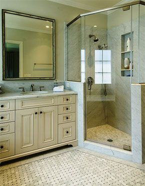 Love this shower for Master bedroom. | Cape Cod Dormer Ideas