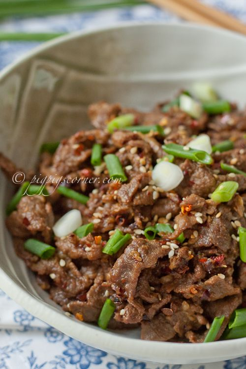Cumin Beef | Mexican Food and Salsas | Pinterest