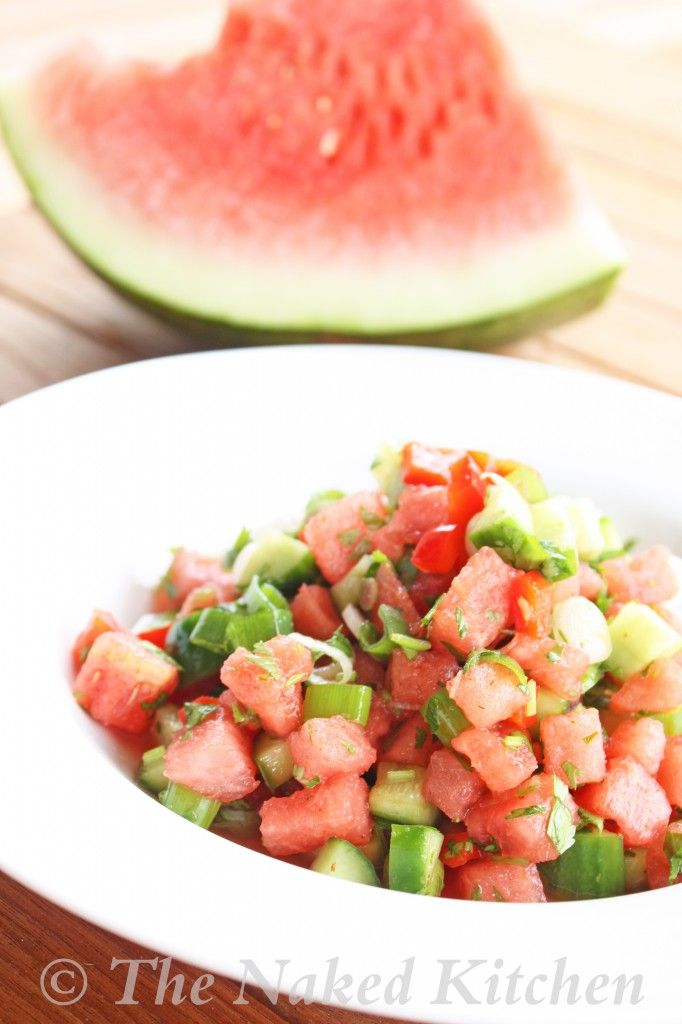 Quick, Refreshing Watermelon Cucumber Salad Recipes — Dishmaps