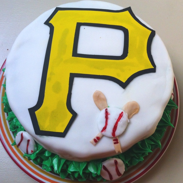 pittsburgh pirates birthday cake