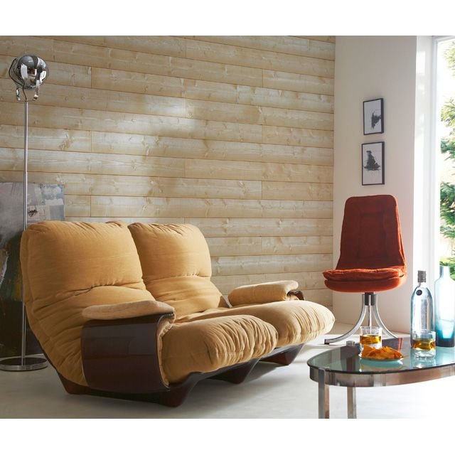 Lambris bois vieilli - CASTORAMA  Pour la maison / For the Home  Pi ...