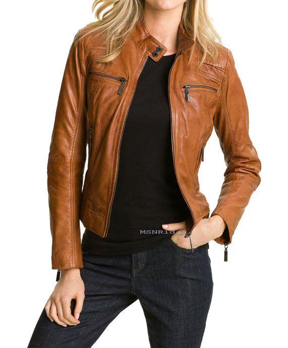 Unique Brown Leather Vest For Women Women Jacket  Page 10  Black