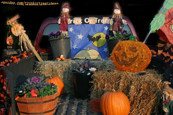 Trunk Or Treat Ideas For Your Car Or Truck For Halloween Fall Festi