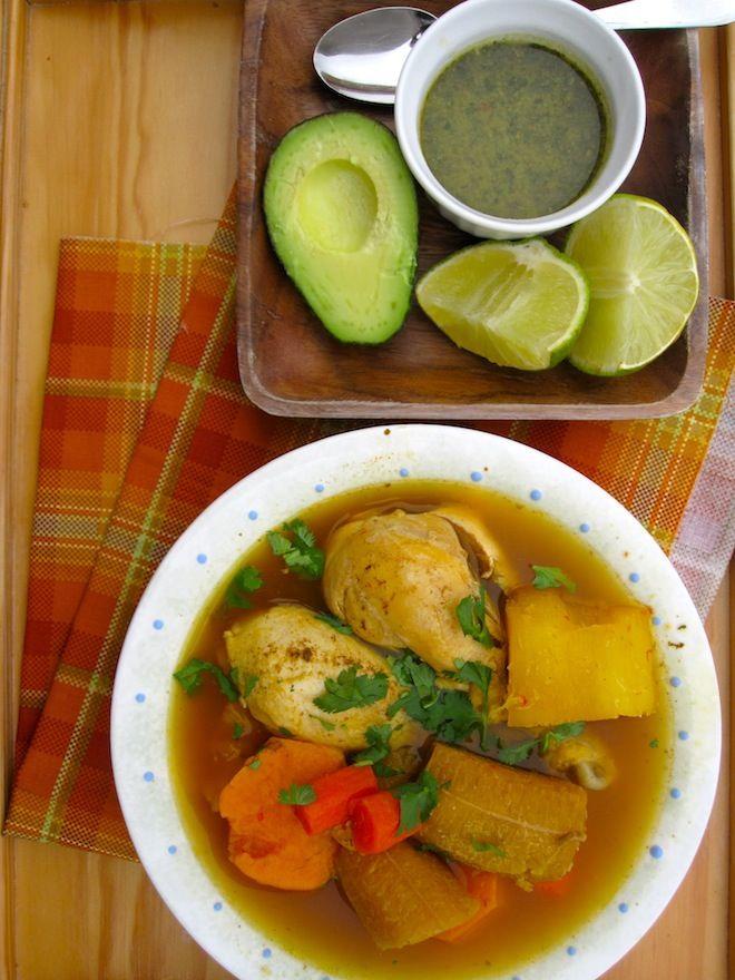 Colombian Chicken Soup from Los Llanos Sopa Colombiana de los llanos ...