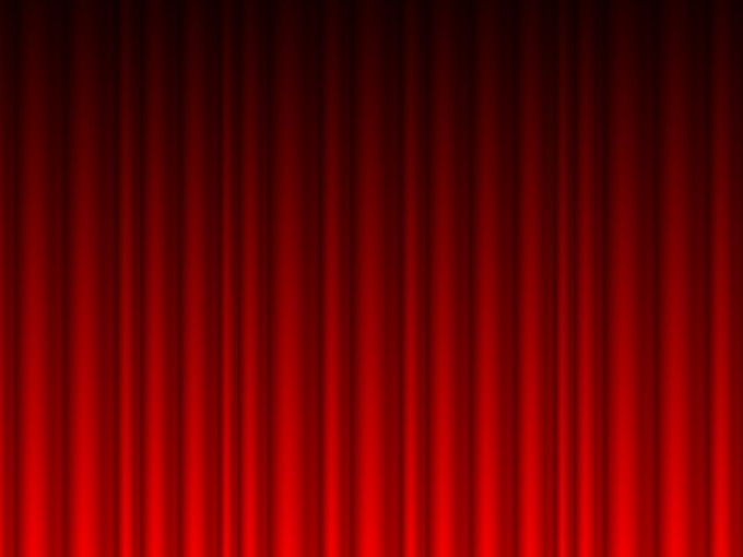 Red Curtains Vector Powerpoint backgrounds is a free template with Red ...