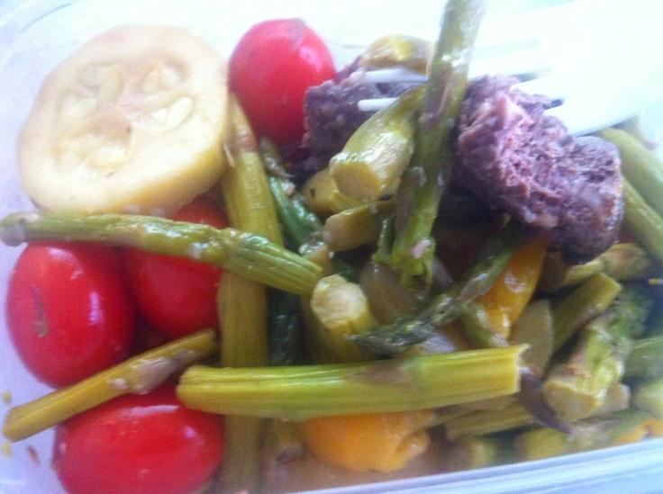 Hanger Steak | Marinated in Maple Grove Farms Fat Free Greek Salad ...