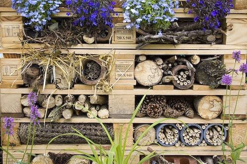 Wild Backyard Ideas : Bug Hotel  doublEEco Project Upstart Park 2012  Pinterest