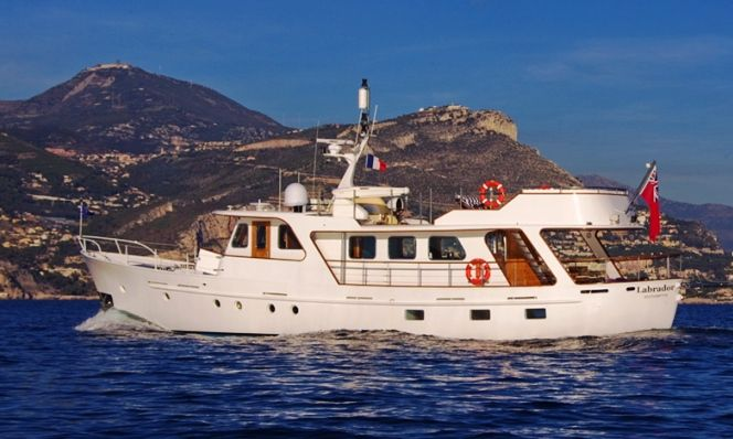 Boreno here classic steel motor yachts for sale for Vintage motor yachts for sale