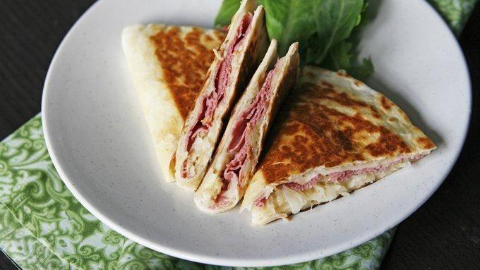 Corned Beef Quesadillas | Recipe