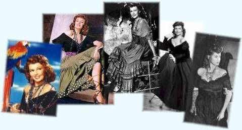 The Loves of Carmen, Jean-Louis designer for Rita Hayworth