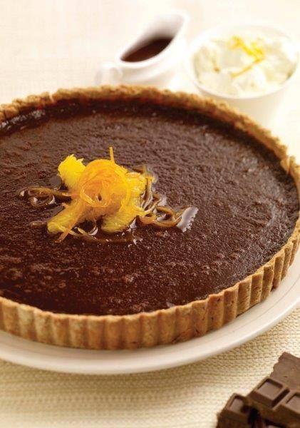 Recipe: Chocolate and Orange Tart - | Baking: Indulgent Style | Pinte ...