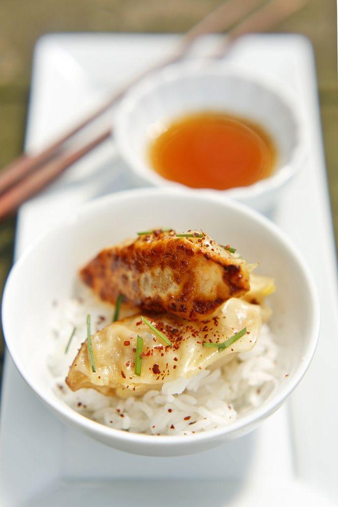 Tofu Kimchi Dumplings Recipe — Dishmaps
