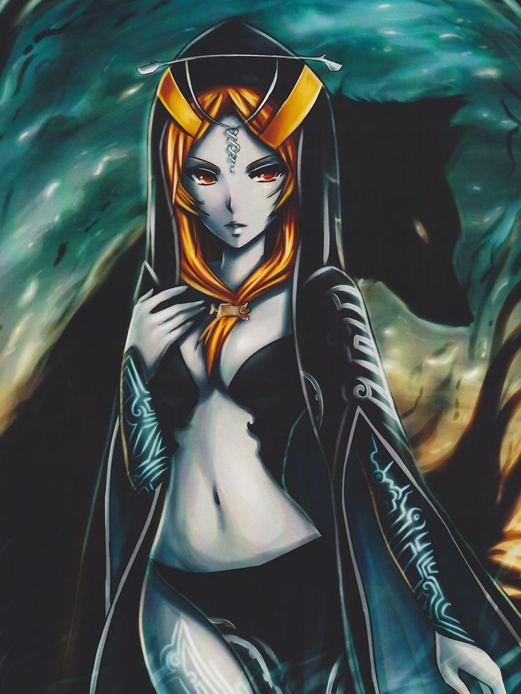 The Legend of Zelda Twilight Princess Midna