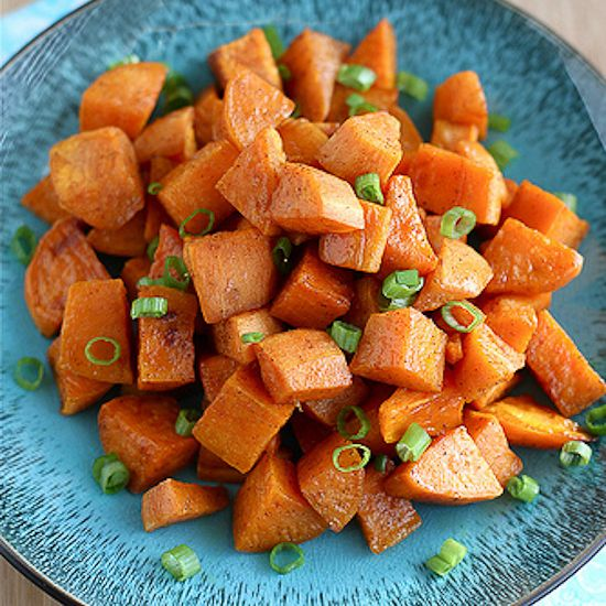 Roasted Sweet Potatoes Recipe with Five-Spice Powder | Recipe