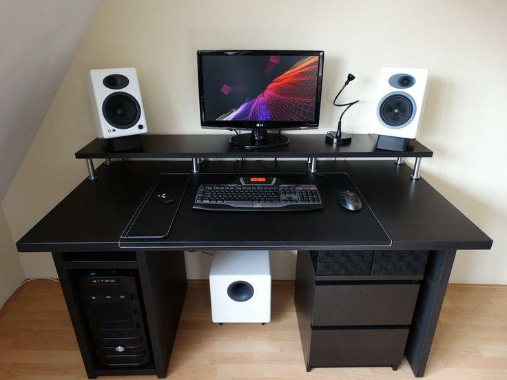 This desk ROCKS! | Home Office | Pinterest