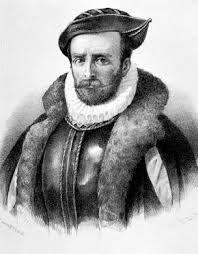 08 – Pedro Sarmiento de Gamboa (Pontevedra, 1530 a 1532 - Océano Atlántico, frente a Lisboa, 17 de julio de 1592) fue un marino, explorador, escritor, historiador, astrónomo, científico y humanista español del siglo XVI.