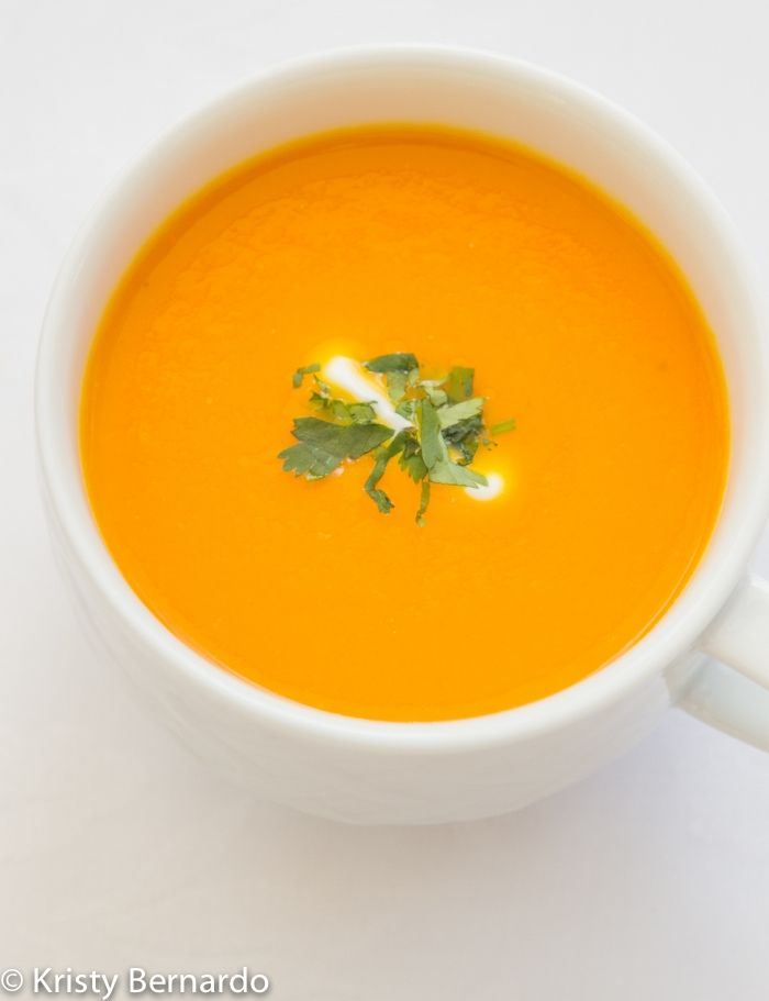 carrot-ginger soup {and some fun with @Dole Foods} #dolesummit #food # ...