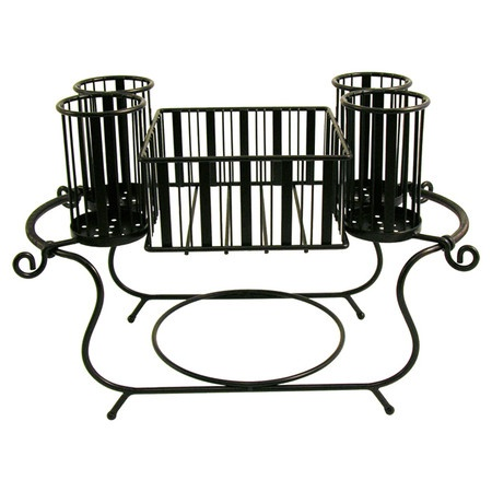 Pin by barbara desing on condo can do 39 s pinterest - Wrought iron flatware ...