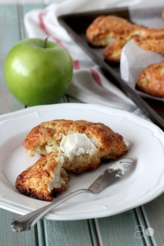 ambrosia: Apple Cheddar Scones. Recipe is unclear. Only 1 egg goes in ...