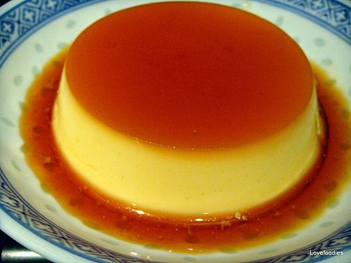 Creme Caramel Custard - Lovefoodies hanging out! Tease your taste buds ...