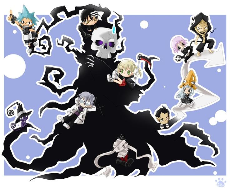 Soul Eater - Characters in Chibi | Anime freak | Pinterest