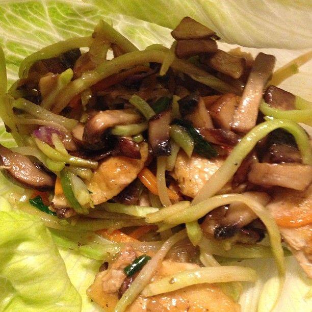 Vegetarian Lettuce Wraps Recipes — Dishmaps