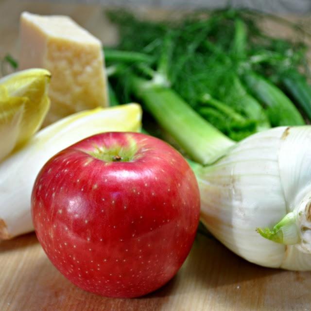Fennel, Apple, & Endive Salad w/ Parmigiano-Reggiano | Recipe